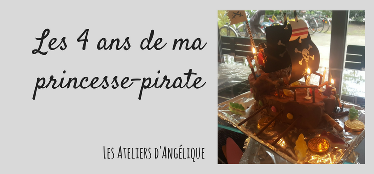 Les 4 ans de ma princesse-pirate