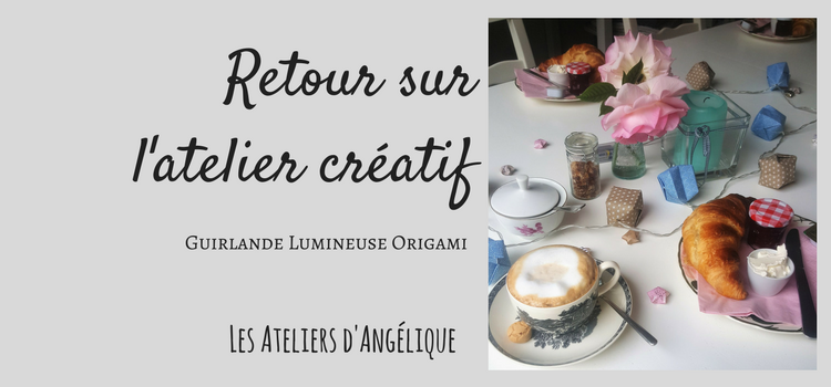 atelier diy guirlande lumineuse origami les ateliers d 39 ang lique. Black Bedroom Furniture Sets. Home Design Ideas